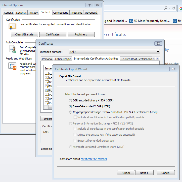 LDAP over SSL authentication (LDAPS) with Active Directory